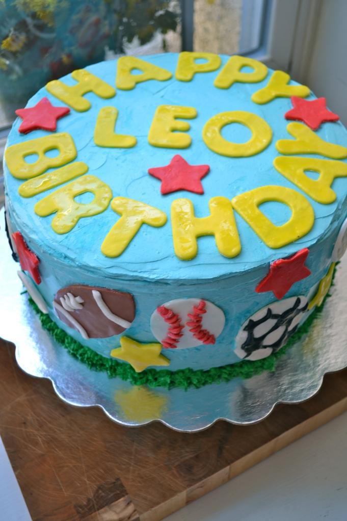 Happy Birthday Leo Heavy Cake